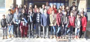 Başarılı sporculardan Demir'e ziyaret