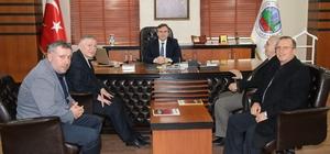 STSO heyeti Siirt Belediye Başkanı Taşkın'ı ziyaret etti