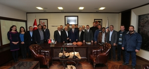 Sarayköy ve Babadağ Ziraat Odaları'ndan Başkan Zolan'a ziyaret