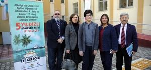 """Antalya'da öğrencilere """"5 yıldızlı"""" karne hediyesi"""
