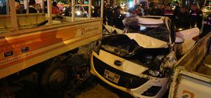 Kaza yapan sürücünün aracındaki yaralıyı bırakıp kaçtığı iddiası