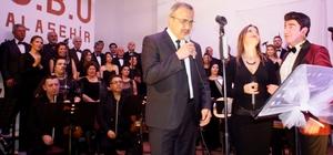 Başkan Karaçoban da sahne aldı