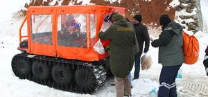 Karda mahsur kalan 6 teknisyen kurtarıldı