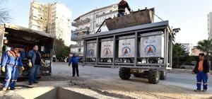 Muratpaşa'da 2 bin 270'inci konteyner yeraltına alındı