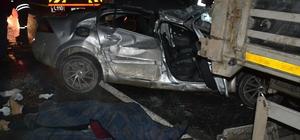 Edirne'de trafik kazası: 1 ölü, 1 yaralı