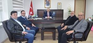 Kaymakam Güven AK Partilileri ağırladı