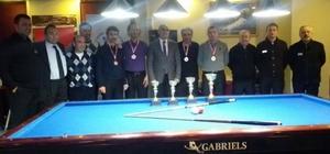 Tekirdağ Bilardo İl Şampiyonası Çorlu'da düzenlendi