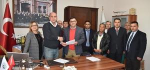 Milas Belediyesi ile DİSK Genel-İş arasında toplu iş sözleşmesi imzalandı
