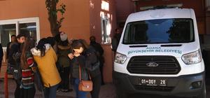 Osmaniye'de ambulansla otomobilin çarpışması