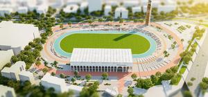 """Bursa'daki Atatürk Stadyumu """"yaşam alanı"""" oluyor"""
