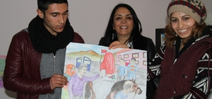 """""""Çocuk Evliliklere Hayır"""" resim yarışmasının ödülleri verildi"""