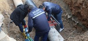 Silopi'ye yeni su boruları döşendi