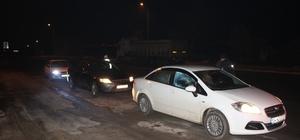Saray'da trafik ve asayiş uygulamaları devam ediyor