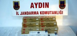 Aydın'da 370 paket kaçak sigara ele geçirildi