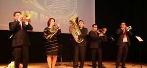Türkiye'nin ilk 'bakır nefesli beşlisi' Golden Horn Brass Başkentlilerle buluştu