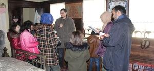 Çocuk yazarlar Ünye Yaşayan Kültürel Miras Müzesini gezdi