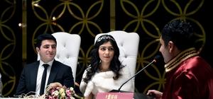 Bir yılda 3 bin 268 çiftin nikahı kıyıldı