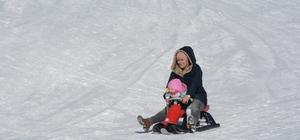 Nemrut Kayak Merkezinde yarı yıl tatili yoğunluğu