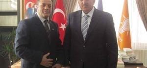 MHP'den AK Parti İl Başkanı Öz'e ziyaret