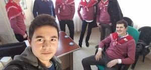 Burhaniye'de, Başkan Uysal asker uğurladı