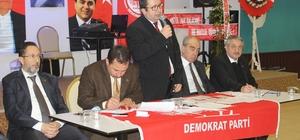 DP Aydın İl Başkanı Serhat Emanet Güven Tazeledi