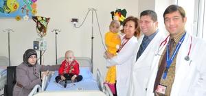 Balcalı'da hasta çocuklar kemik iliği nakliyle hayat buluyor