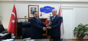 ASİMDER'den Emniyet Müdürü Çevik'e ziyaret