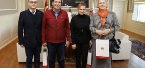Kültür ve Sanat Komisyonu, Başkan Genç'i ziyaret etti