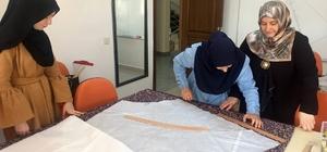 Pursaklar'da giyim tasarım kursiyerlerine sertifika verildi