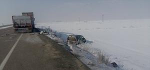 Erzurum'da zincirleme trafik kazası: 18 yaralı