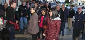 Bağlar Belediyesi yöneticileri esnafı ziyaret etti