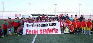 Şehit Fethi Sekin futbol turnuvası başladı
