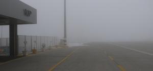 Iğdır'da hava ulaşımına sis engeli