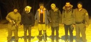 Dağda kaybolan gençleri jandarma kurtardı