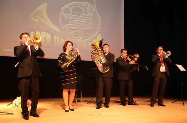 'Golden Horn Brass' Ankaralılarla ilk kez buluştu