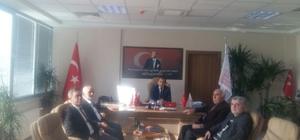 Gönüllü Kuruluşlar İl Müdürü Nevzat Özer'i ziyaret etti