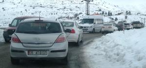 Bozdağ'a kar akını