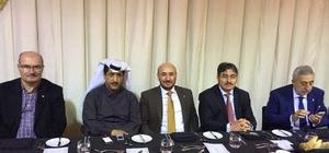 Katarlı işadamlarıyla Aydın'da yatırım konuşuldu