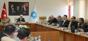Üniversitede kalite komisyonu dış paydaş toplantısı yapıldı