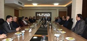 Tahmazoğlu'ndan  MÜSİAD'a hayırlı olsun ziyareti