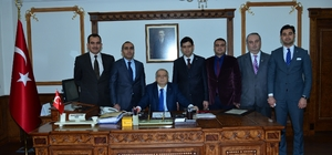 Büro Memur-Sen Temsilciliği Vali Şentürk'ü ziyaret etti