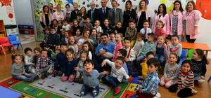Tepebaşı Belediyesi anaokulu öğrencilerine hayvan sevgisi aşıladı