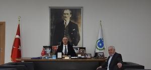 Abdullah Baş'tan Başkan Vekili Karaevli'ye ziyaret