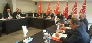 Albayrak İl Merkezi Belediye Başkanları toplantısına katıldı