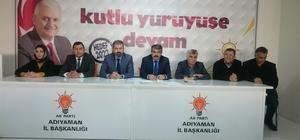 AK Parti eski başkanlarla 'referandumu' istişare etti