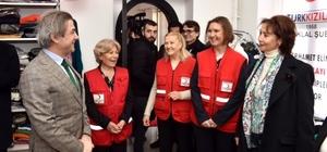 Türk Kızılayı Sevgi Mağazası Beyoğlu'nda açıldı