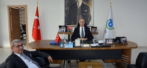 Ömer Faruk Küçük'ten Başkan Vekili Karaevli'ye Ziyaret