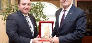 Başkan Bakıcı Bursa'da temaslarda bulundu