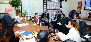 Beylikdüzü Belediyesi,  Nilüfer Belediyesi yetkililerini ağırladı