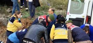 Muğla'da otomobil uçuruma devrildi: 6 yaralı